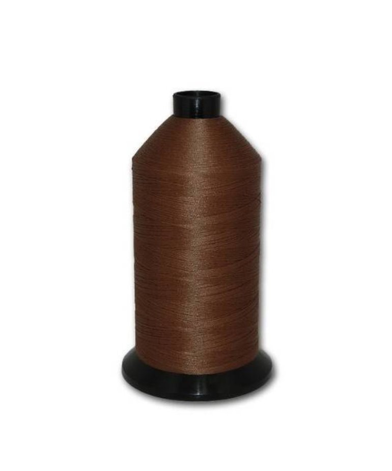 Fil-Tec Bonded Nylon 92 weight 1Lb cone Color - Chocolate