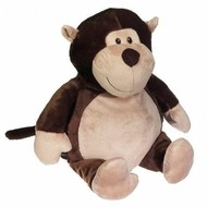 Checker Monty Monkey Buddy 16in