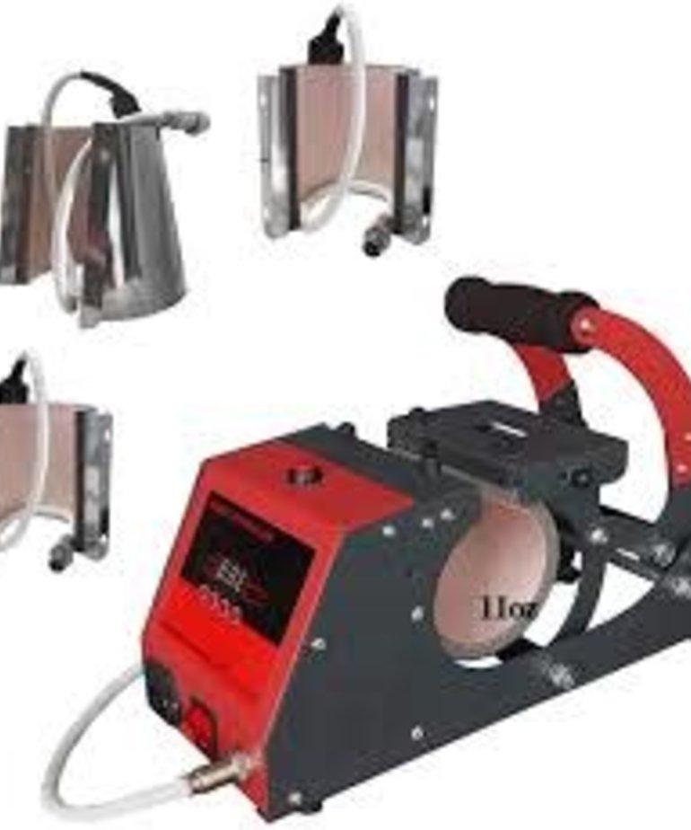 HP-4-1M Ikonix mug press  4 N 1