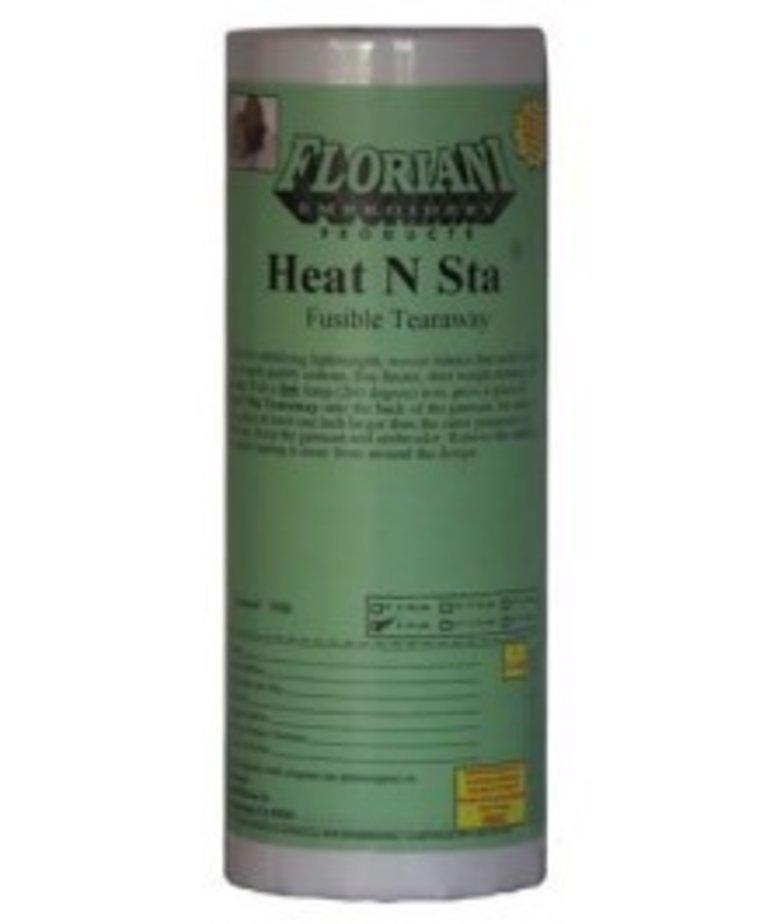 "Floriani Floriani's Heat N Sta Fusible Tearaway 1.5oz 12"" x 25 yds"