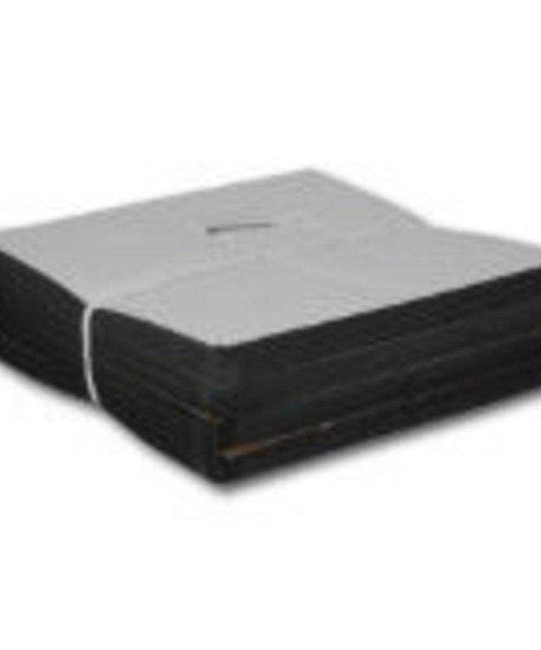 625B 2.5 oz. Black Cutaway 7.5 x 8 250 pieces