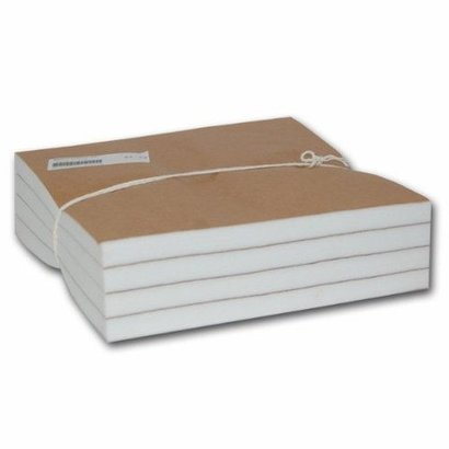 625W 2.5 oz. White Cutaway 7.5 inch x8 inch  Precut Squares 250 Pieces