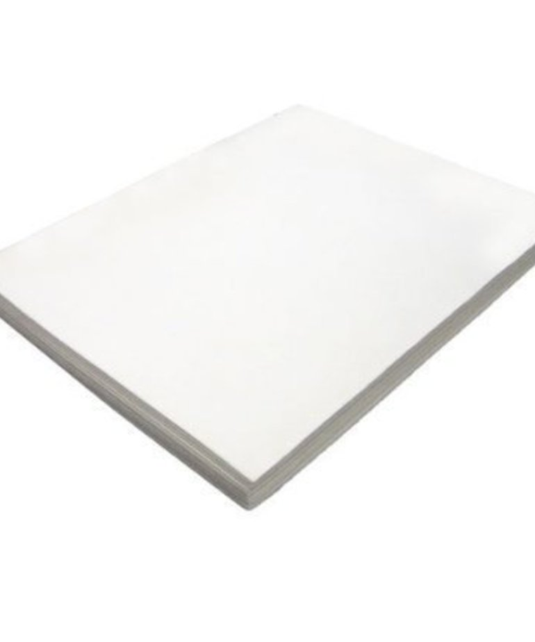 3MM Puffy Foam - White,1 sheet 12 inch  x18