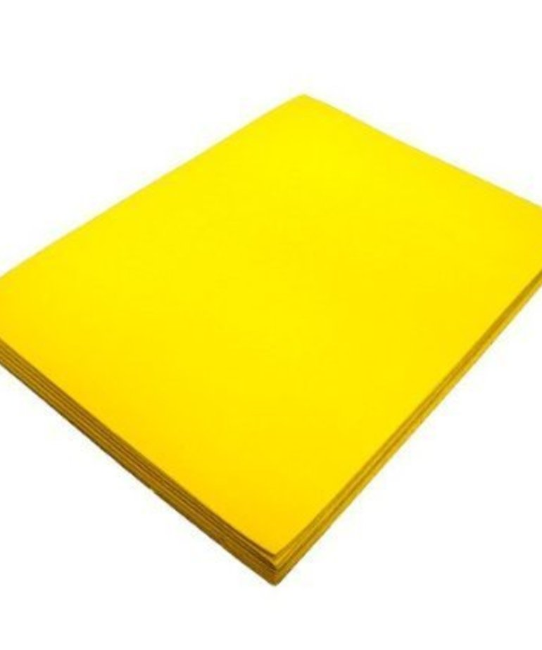 3MM Puffy Foam - Yellow,1 sheet 12 inch  x18