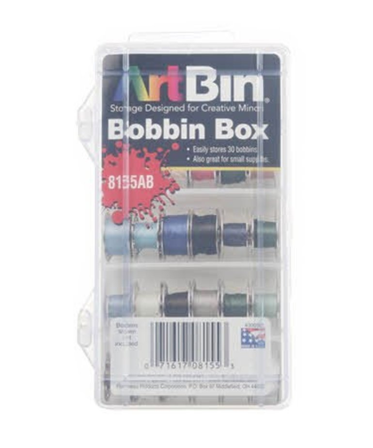 Checker Bobbin Box Plastic