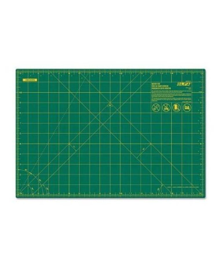 Checker Cutting Mat with Grid 12in x 18in
