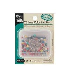 Clover 75 Long Color Ball Pins