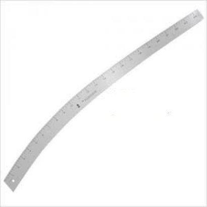 """Fairgate Fairgate Fashion Design Curve Stick, 24"""",The most popular contour. Used for lapel, elbow, skirt, slack, trouser, or anywhere a special contour is needed. Calibrated one edge, two sides"""