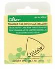 Checker Triangle Tailor's Chalk Yellow