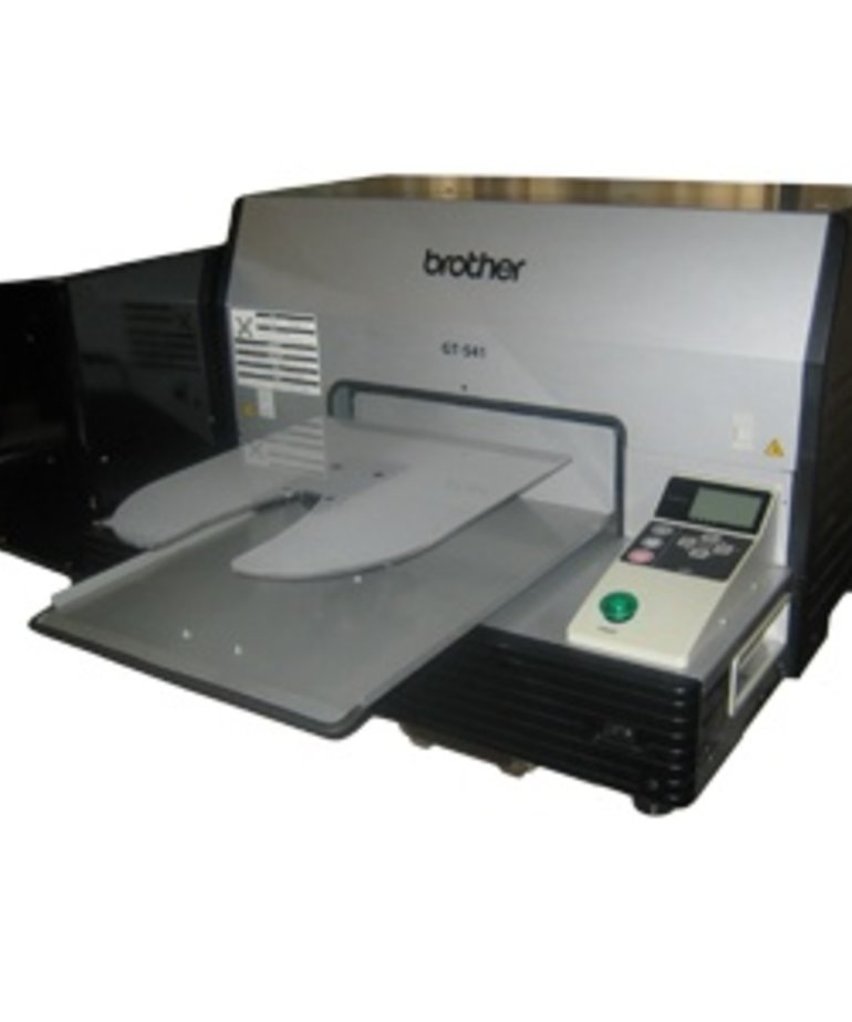Brother Wrap Around Platen Insert need Touchdown basic or complete kit - prints on side of shirt