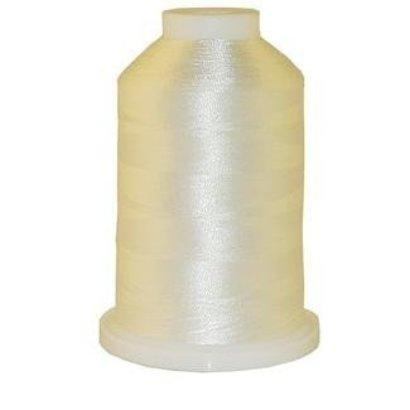 Brother 1000 Yard Satin Finish Polyester White #001