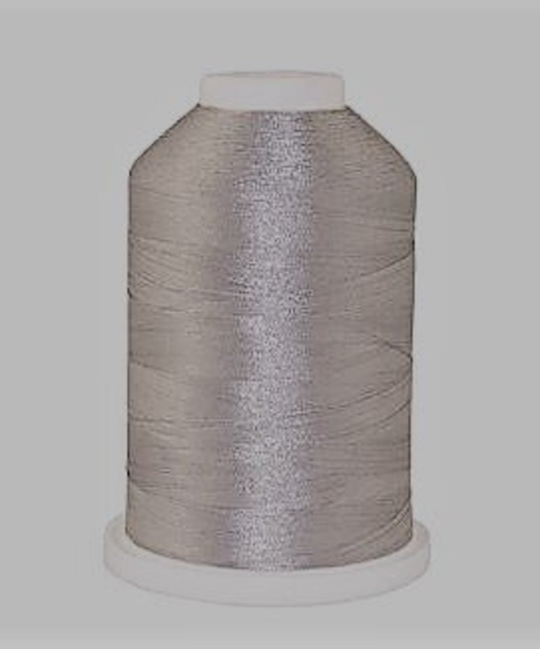 Brother 1000 Yard Satin Finish Polyester Silver #005