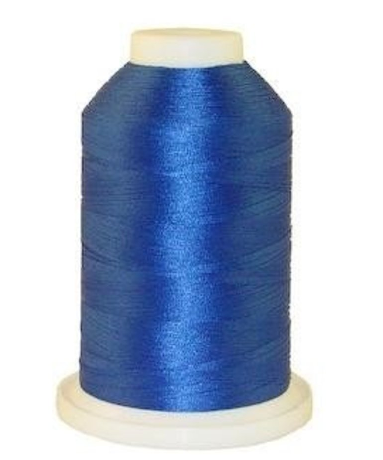 Brother 1000 Yard Satin Finish Polyester Electric Blue #420