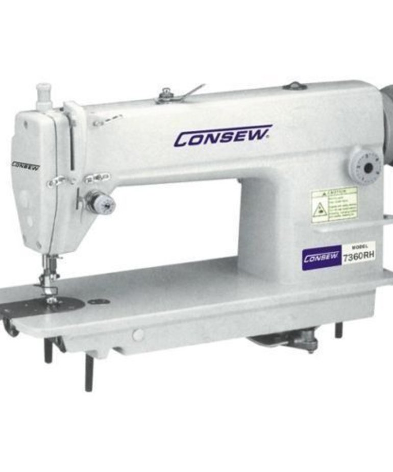 Consew 7360RH - Heavy Duty, Ultra High Speed, Single Needle, Drop Feed Lockstitch Machine