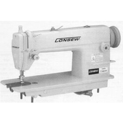 Consew 7360RB - Big Bobbin, Ultra High Speed, Single Needle, Drop Feed Lockstitch Machine