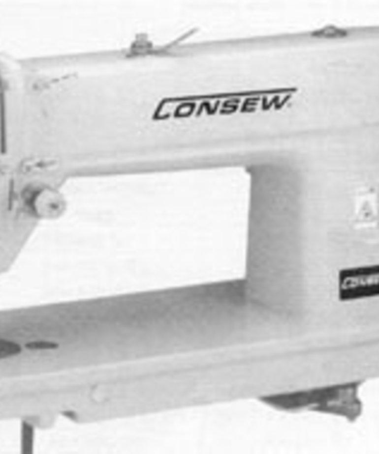 Consew 7360RB - Big Bobbin, Ultra High Speed, Single Needle, Drop Feed Lockstitch Machine
