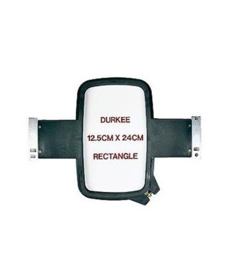 Durkee 12.5cm x 24 cm Rectangle (5 inch  x 9 inch ) Brother_Baby Lock Compatible for 6 and 10 Needle Machines