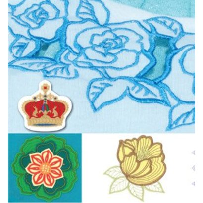 Brother Embroidery USB-Cutting Embroidery Collection 2