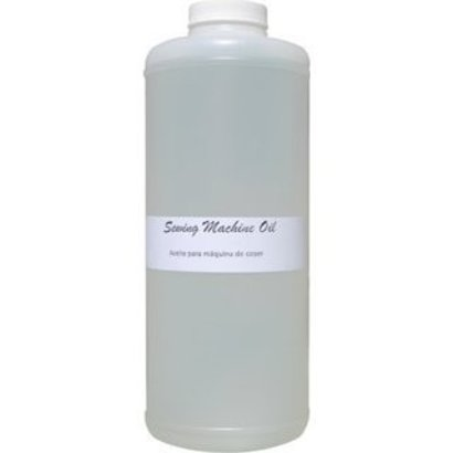 White Stainless Sewing Machine oil.
