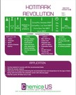 "Chemica Hotmark Revolution 15"" x 1yd roll (285°F 15 seconds)"