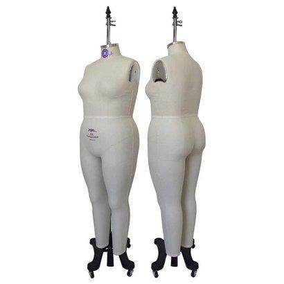 Women Plus Size Full Body Dress Form (Industry Pro) - SewingMachine.com