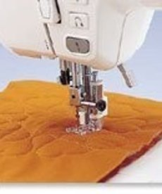 Brother Quilting Foot (clear plastic) - Screw on Foot Requires Low Shank Adapter for ULT/PC series. Fits NV6000D