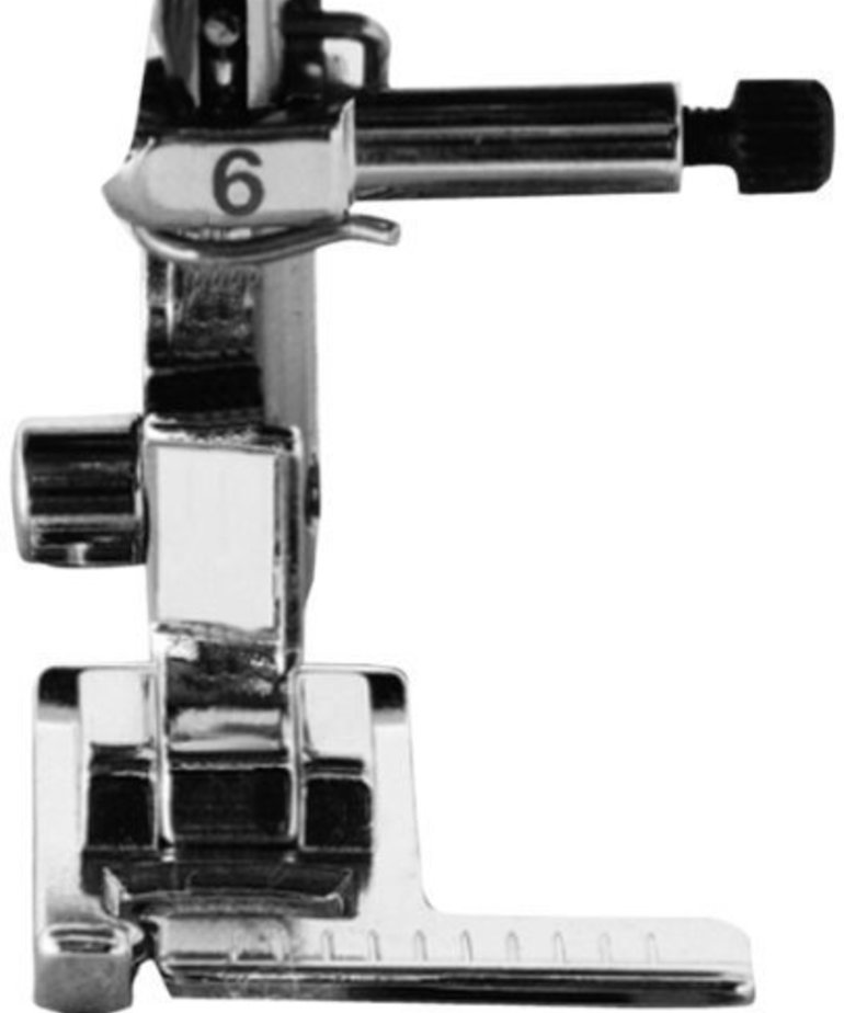 Brother Stitch Guide Foot. See catalog for list of machines; including the NV6000D