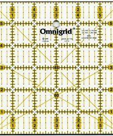 Omnigrid Ruler 6in x 6in With Angles