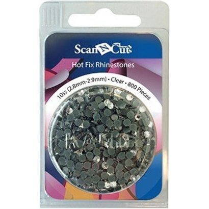 Brother Clear Rhinestones 10ss Refill Pack
