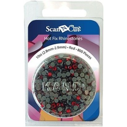 Brother Red Rhinestones 10ss Refill Pack