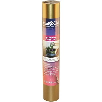 Brother 6 FT ROLL- GOLD ADHESIVE CRAFT VINYL