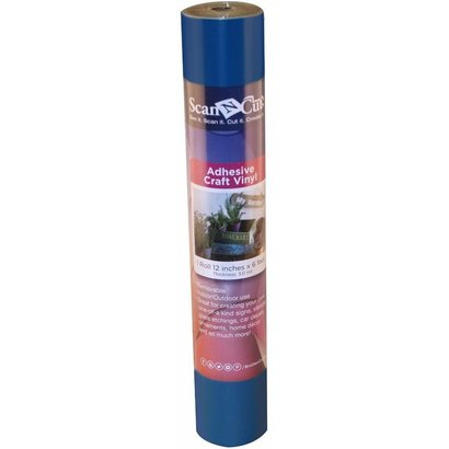 Brother 6 FT ROLL- BLUE ADHESIVE CRAFT VINYL