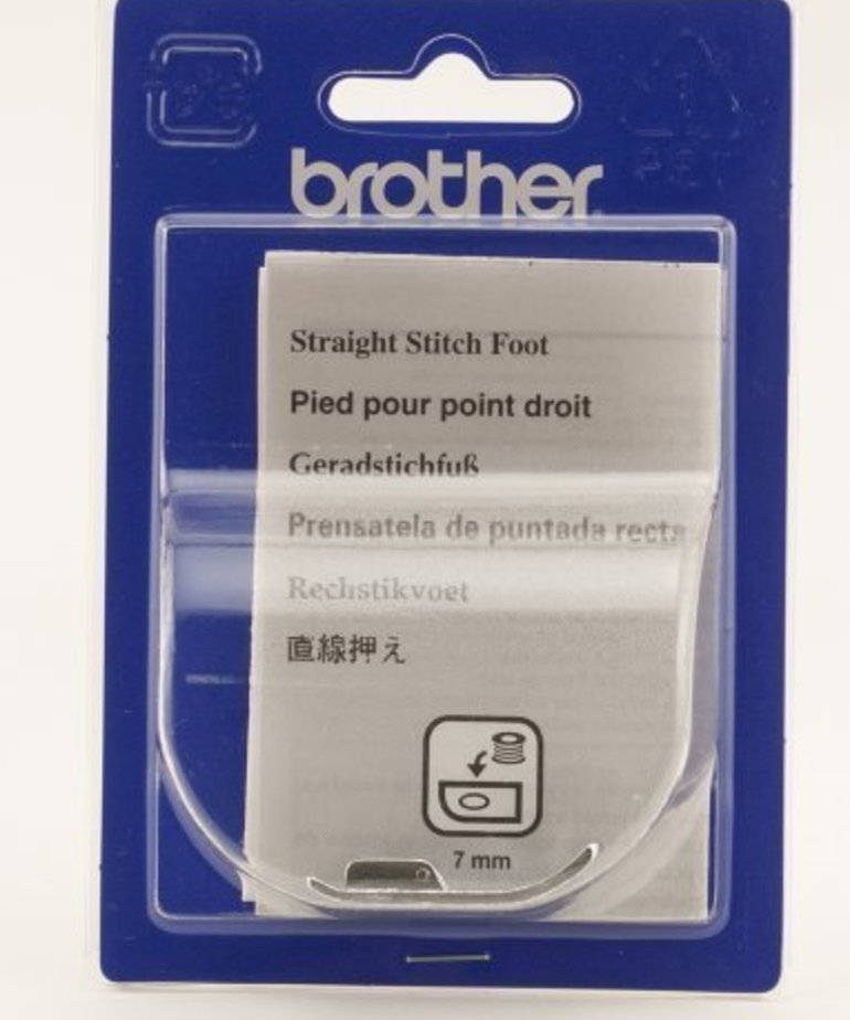 Brother Straight Stitch Ft for PC, PS, NX, ULT, CS, SE270D, NV500D and NV6000D