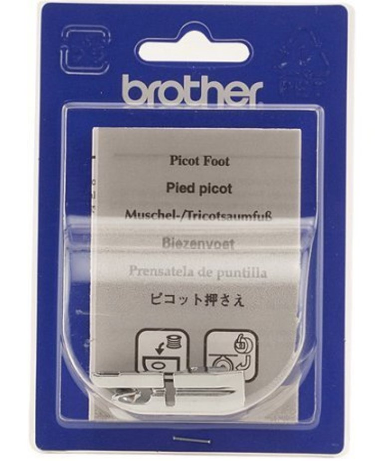 Brother Picot Foot for edging on sheer and very lightweight fabrics
