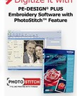 Brother Photo Stitch Bundle. Includes Flip Pal + PEDPLUS + EFT10PKG