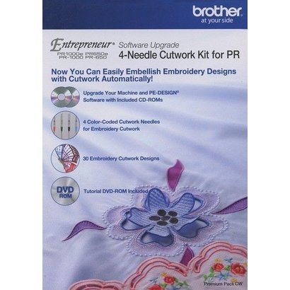 Brother Multi Needle Cutwork Kit for PR1000, PR1000E, PR650 and PR650E
