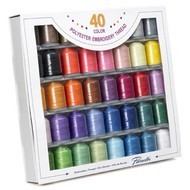 Brother 40 Color Polyester Thread Set
