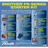 Brother NEW PR600 Series/PR1000 Starter Kit!