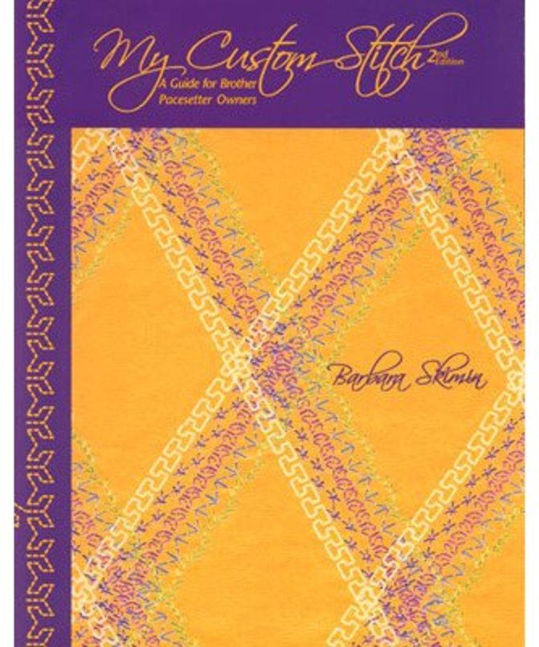 Brother My Custom Stitch Book