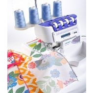 July 20 Beginner Hands on Serging & Sewing class
