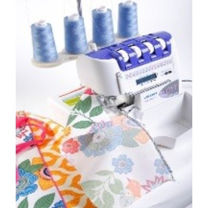 February 9 Beginner Hands on Serging & Sewing class - Atlanta