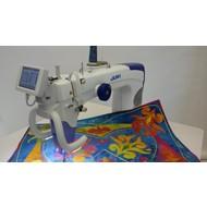 "Juki TL2200QVP-S Sit Down 18x10"" LongArm Free Motion Quilting Machine"