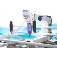 "Juki TL2200QVP Sit18x10"" LongArm Quilting Machine, 10' Frame, Thread Trimmers"