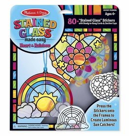 Melissa & Doug Stained Glass Made Easy - Heart Box