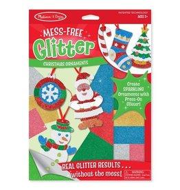 Melissa & Doug Mess-Free Glitter Christmas Ornaments