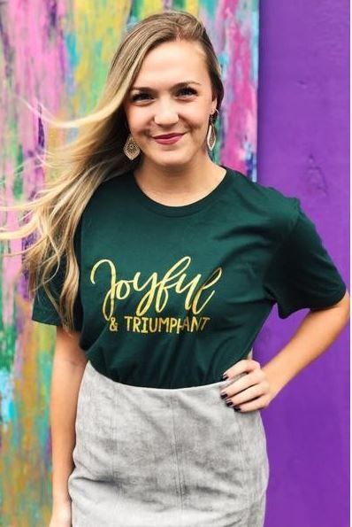 Vintage Soul Joyful and Triumphant Tee