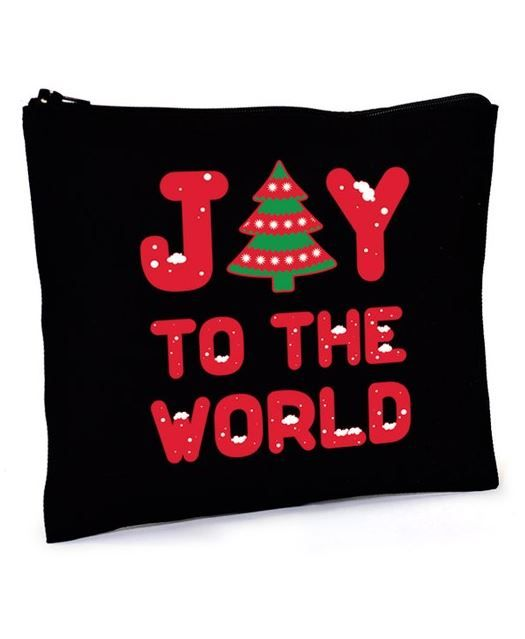 Colorbear Joy To The World Pouch