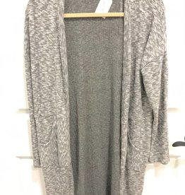 Sweet Claire Brushed Ribbed Cardigan