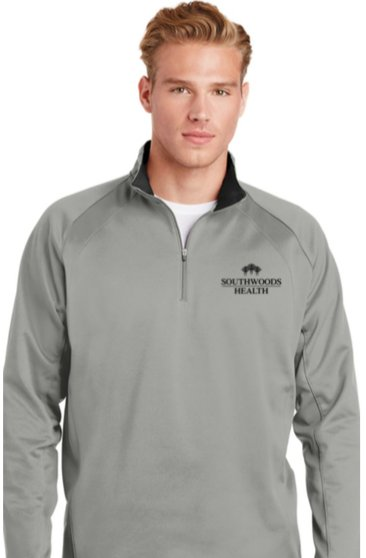 Southwoods Men's Sport-Wick Fleece Pullover (2 Colors)