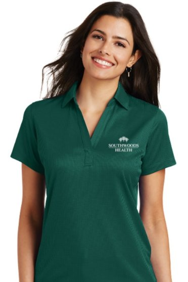 Southwoods Women's Jacquard Polo